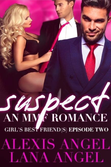Suspect - MMF romance series to read free by Alexis Angel